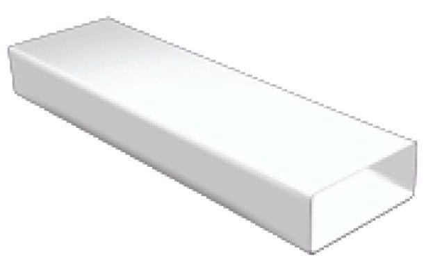 Regulus Čtyřhranné plastové potrubí DN125, 60x200, 1,5m 7906