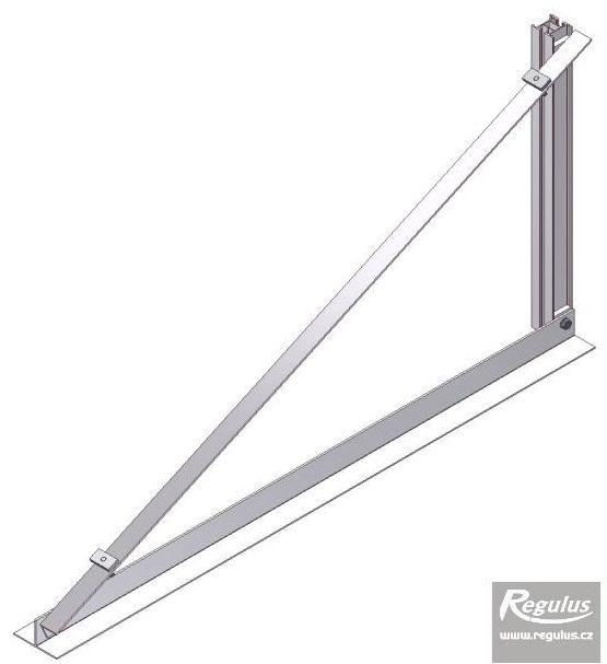 Regulus Držák na rovnou střechu - trojúhelníková podpěra 25 stupňů 10975
