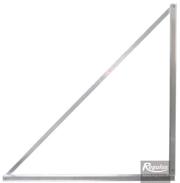 Regulus Držák pro úpravu sklonu kolektorů - držák trojúhelníkový 45 stupňů 10094