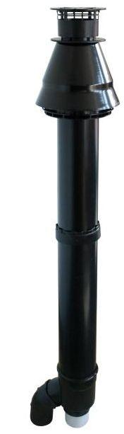 Regulus Komínek 2x 80 PP průchod otvorem průměr 125 mm 11257