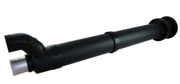 Regulus Komínek 2x 80 průchod otvorem průměr 125 mm 3777