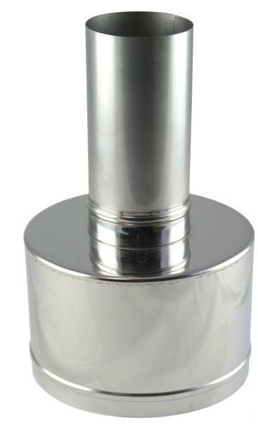 Regulus Koncovka ke komínku průměr 80/125 PPH-A/Inox 8648