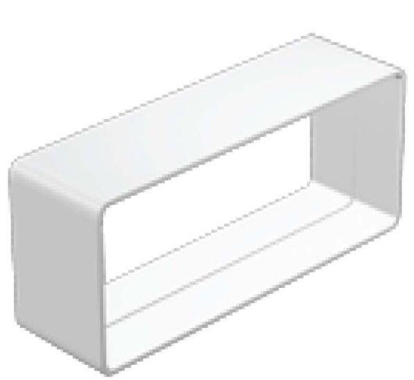 Regulus Nátrubek čtyřhranný DN125 plast, 60x200  7909