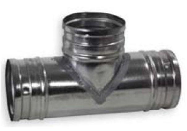 Regulus Odbočka jednoduchá 90°, 150/125 mm 7908