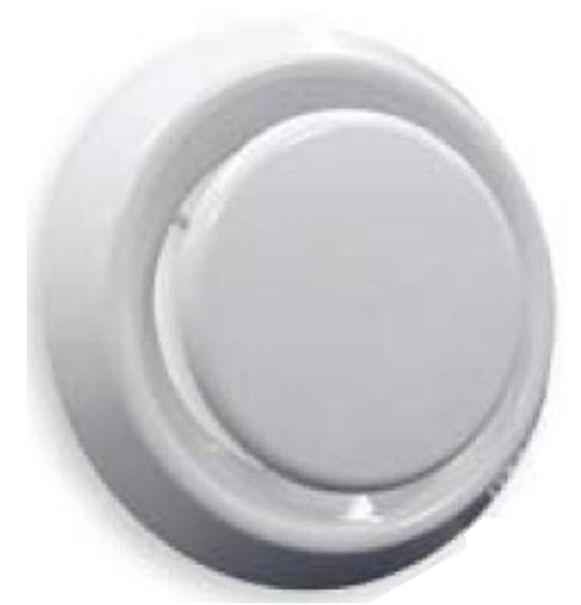 Regulus Plastový talířový ventil pro přívod a odvod vzduchu, 125mm 7902