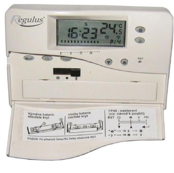 Regulus Pokojový termostat TP08