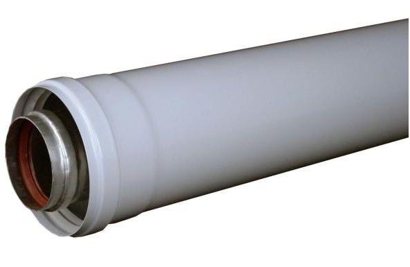 Regulus Prodloužení odkouření pro turbo kotle 60/100, Fe/Al
