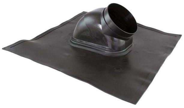 Regulus Průchodka střechou šikmá - hliník 18°- 44° černá 8014