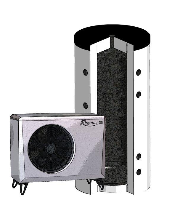 Regulus Tepelné čerpadlo vzduch/voda s akumulační nádrží EA 408 PS