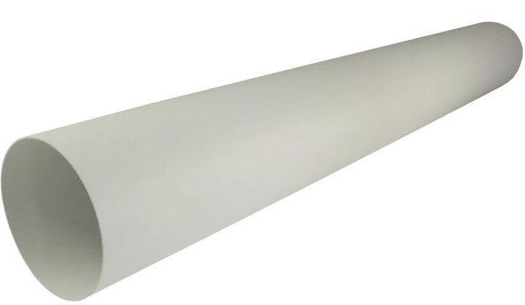 Regulus Potrubí kruhové plast 100 mm - 1 m  8852