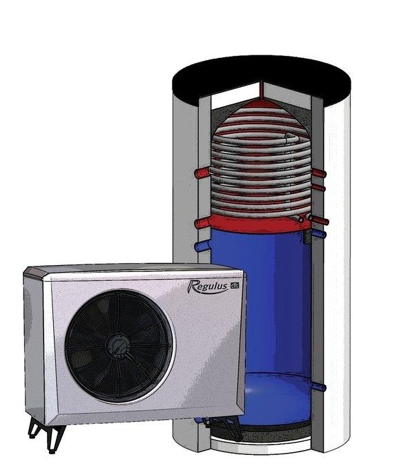 Regulus Tepelné čerpadlo vzduch/voda s kombinovanou nádrží EA 415 HSK  16578