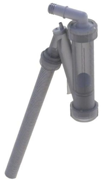 Regulus Sifon s kuličkou vč. hadice pro odvod kondenzátu rohový pro kaskády 9689