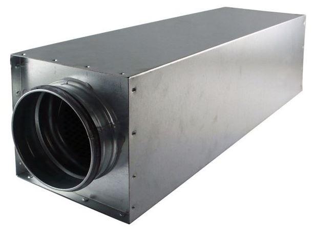 Tlumič hluku pro pr. 125 mm, 175x175x600 mm
