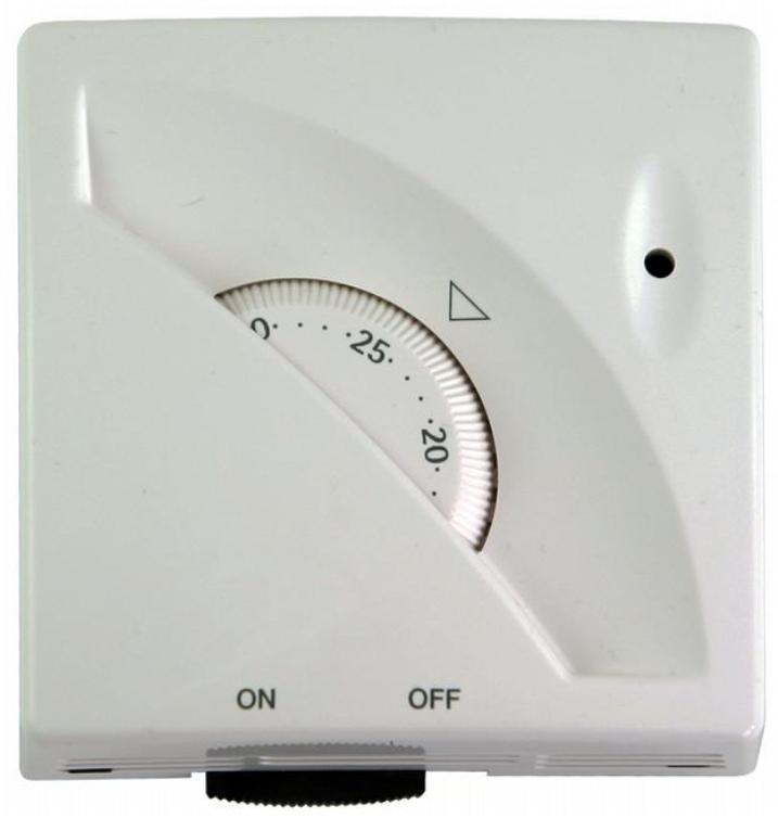 Regulus Pokojový termostat TP546OL, s kontrolkou zapnutí a s vypínačem 10947
