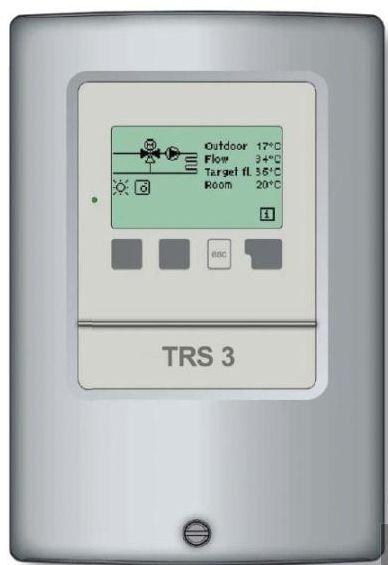 Regulus TRS4 - regulátor pro 2 otopné okruhy 9056