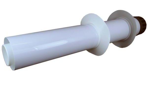 Regulus Trubka 80/125 PP přes zeď s plastovou koncovkou  7003