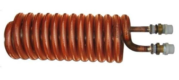 Regulus Trubkový výměník tepla 1,80 m2 pro akumulační nádrže  6152