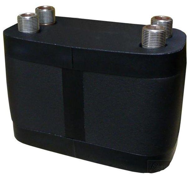 Regulus Nerezový deskový výměník tepla DV193-45E izolovaný 9550