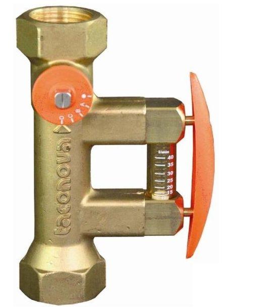 """Regulus Vyvažovací ventil - 2-12 l/min, 2x3/4""""F, 185°C"""