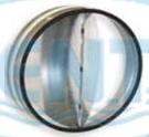 Regulus Zpětná klapka těsná, 125mm 10872